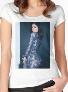 Kylie Jenner Spiral Women's Fitted Scoop T-Shirt