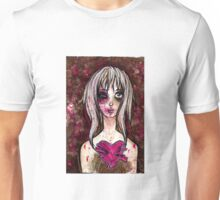 THE MAIDEN, THE LIAR, THE MONSTER AND THE MASOCHIST Unisex T-Shirt