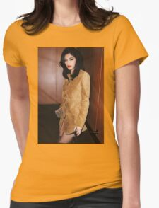 Kylie Jenner Mary Jo Womens Fitted T-Shirt