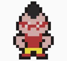 Pixel Teddy One Piece - Short Sleeve