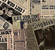 Harry Potter-Daily Prophet by KiddCustoms