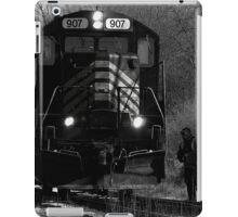 Time to work, it's too cold in the winter iPad Case/Skin