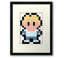 Pixel Cody Framed Print