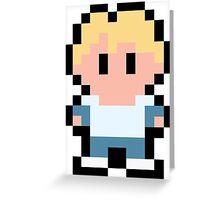 Pixel Cody Greeting Card