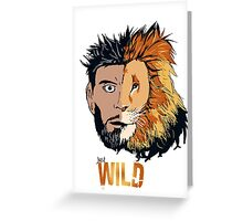 Just wild Greeting Card