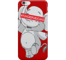 Young Republicans: Dancing Elephant iPhone Case/Skin