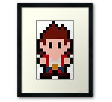 Pixel Jimmy Lee Framed Print