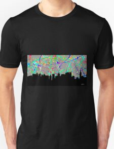 New York City in Silver T-Shirt