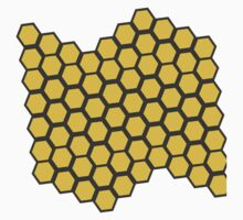 Honeycomb Pattern Kids Clothes