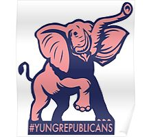 Young Republicans: Elephant Poster