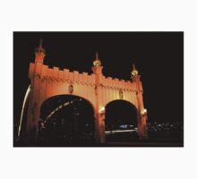 Smithfield Street Bridge at Night One Piece - Short Sleeve