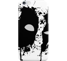 Eyes of the anti-hero iPhone Case/Skin