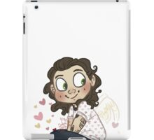 when love is not harreh, its not love iPad Case/Skin