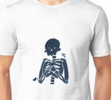 Blue Skelly Unisex T-Shirt