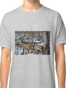 Pennsylvania Deer in Winter Classic T-Shirt