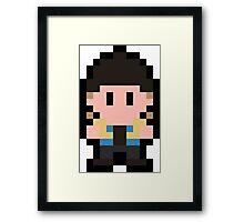 Pixel Jay Framed Print