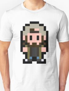 Pixel Silent Bob Unisex T-Shirt
