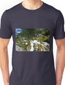 Snow Covered Pine Unisex T-Shirt