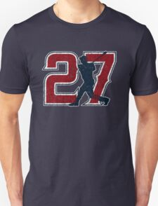 27 - Millville Meteor (vintage on blue) T-Shirt