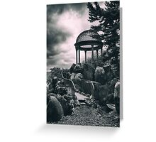 Night of the Temple Greeting Card