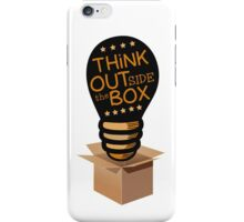 Think ouside the box iPhone Case/Skin