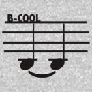 B-Cool (with text) by LANG BUNKA