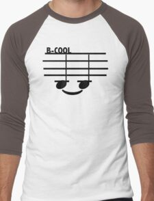 B-Cool (with text) Men's Baseball ¾ T-Shirt