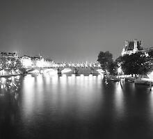 River Seine - Paris by BBCsImagery