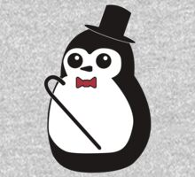 Classy Penguin Baby Tee