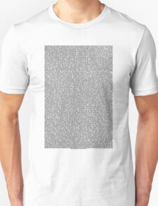 Bee movie script white shirt T-Shirt