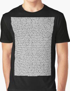 Bee movie script black shirt Graphic T-Shirt