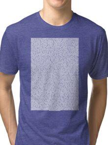 Bee movie script black shirt Tri-blend T-Shirt
