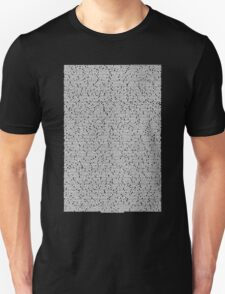Bee movie script black shirt T-Shirt