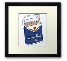 Winnie Blue's Mate  Framed Print