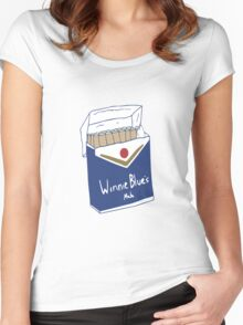 Winnie Blue's Mate  Women's Fitted Scoop T-Shirt