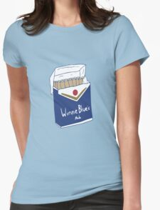 Winnie Blue's Mate  Womens Fitted T-Shirt