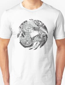 Raging Torrent of Waves Unisex T-Shirt