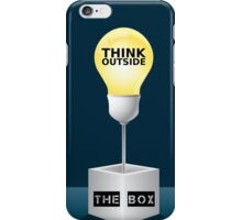 LAMP - THINK OUTSIDE THE BOX iPhone Case/Skin