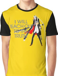 I Will Reach Out to the Truth Graphic T-Shirt