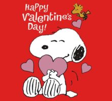 Snoopy's Valentine's Day Kids Clothes