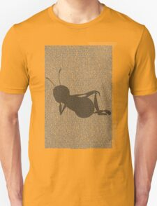 Bee script silhouette Unisex T-Shirt