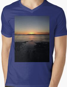 Sunset  Mens V-Neck T-Shirt