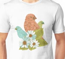 Darwin's Finches // Pattern Unisex T-Shirt