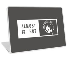 Almost Hot White Concert Ticket Sitting in the Moon Deco Laptop Skin