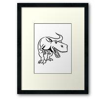 Dinosaur dinosaur T-Rex Tyrannosaurus Rex Framed Print