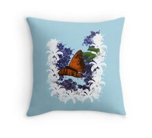 Night Nectar Throw Pillow