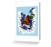 Night Nectar Greeting Card