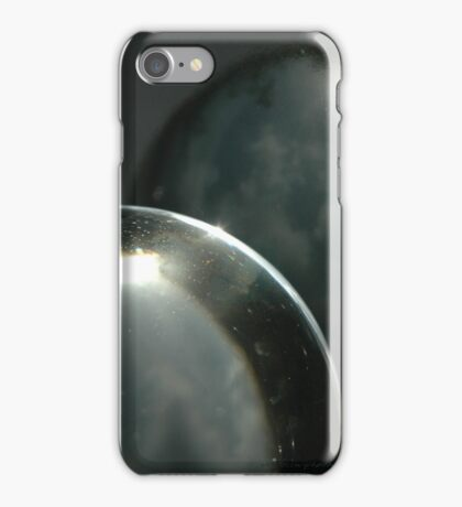 Two Worlds Colliding © Vicki Ferrari iPhone Case/Skin