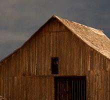 An Old Barn in Rural California Sticker
