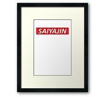 Saiyajin Framed Print